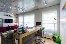 moderne Studeerkamer/kantoor door Adriana Pierantoni Arquitetura & Design