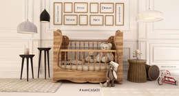Habitaciones infantiles de estilo  por babyCASATI
