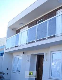 Casas de estilo moderno por Moradaverde Arquitetura