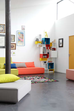 eclectic Study/office by Cubit- Bits For Living