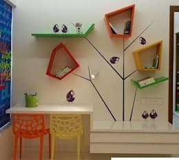 Hilal Tasarım Mobilya – Genç Odası: modern tarz Çalışma Odası