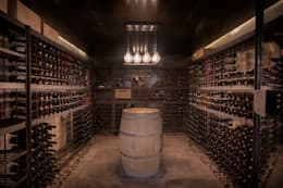modern Wine cellar by A4estudio