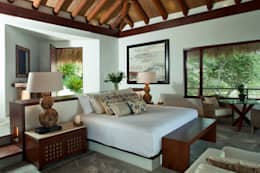rustic Bedroom by Productos Cristalum