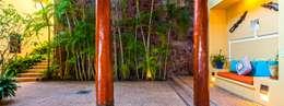 Balconies, verandas & terraces  by BR  ARQUITECTOS