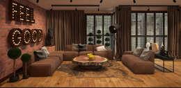 FAMM DESIGN: eklektik tarz tarz Oturma Odası