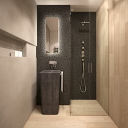 minimalistic Bathroom by FAMM DESIGN