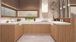 Cocinas de estilo minimalista por FAMM DESIGN