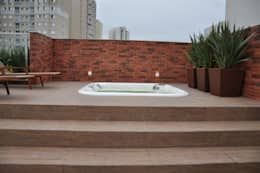 Spa de estilo moderno por Varinia Schwartz Arquitetura & Interiores