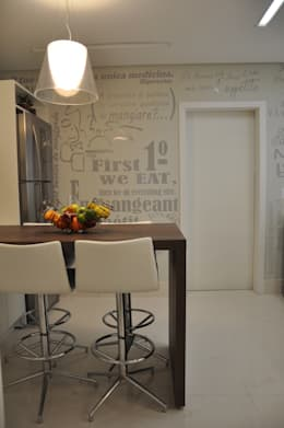 Cocinas de estilo moderno por Varinia Schwartz Arquitetura & Interiores
