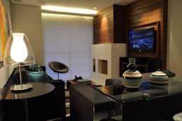 Salas / recibidores de estilo moderno por Varinia Schwartz Arquitetura & Interiores