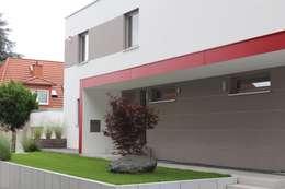 Projekty, nowoczesne Domy zaprojektowane przez architektur______linie