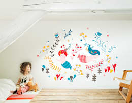 eclectic Nursery/kid's room by Bumoon