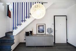mediterranean Corridor, hallway & stairs by Alessandro Corina Interior Designer
