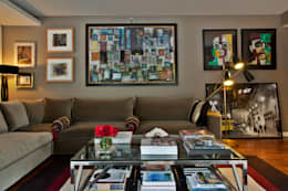Livings de estilo moderno por Pureza Magalhães, Arquitectura e Design de Interiores