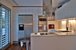 modern Kitchen by Pureza Magalhães, Arquitectura e Design de Interiores