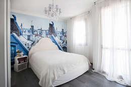 غرفة نوم تنفيذ Alessandro Corina Interior Designer