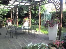 Simona Carcano: modern tarz Bahçe