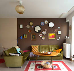 eclectic Living room by Mighty Vintage