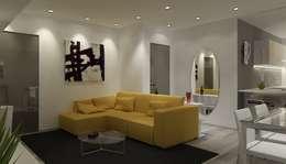 Salas de estilo moderno por Paolo Foglini Design