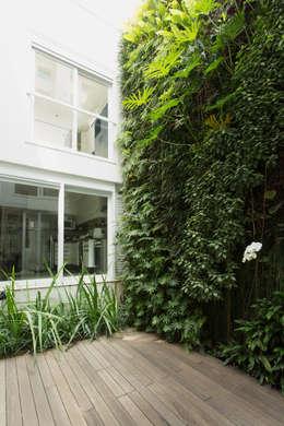 Residência Milani: Jardins modernos por Belleza & Batalha C do Lago Arquitetos Associados