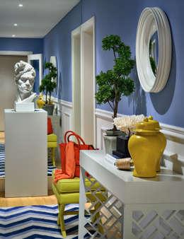 Pasillos, vestíbulos y escaleras de estilo  por Prego Sem Estopa by Ana Cordeiro
