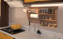 Projekty,  Kuchnia zaprojektowane przez Intervento Design