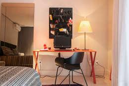 Cuartos de estilo minimalista por Deborah Basso Arquitetura&Interiores
