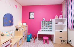 Chambre d'enfant de style de style Scandinave par LYCKA interior & styling