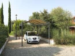 Le tettoie per auto funzionali ed ecologiche for Garage mobile per auto