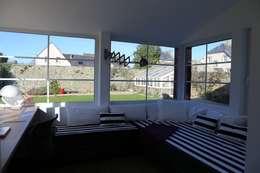 Ad Hoc Concept architecture: modern tarz Kış Bahçesi