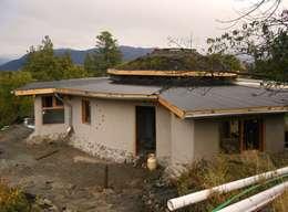Casas de estilo rural por Ecohacer Bioarquitectura y Bioconstrucción