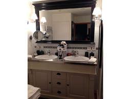 Appartement 62m2: Salle de bains de style  par Arnaud Bouvier Design