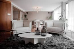 Projekty,  Salon zaprojektowane przez Elías Arquitectura