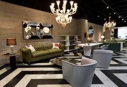 Salon de style de style Moderne par Elías Arquitectura