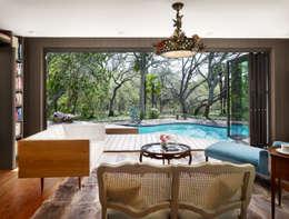 Piscinas de estilo moderno por Elías Arquitectura