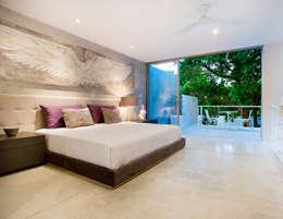 moderne Slaapkamer door HPONCE ARQUITECTOS