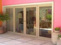 Projekty,  Okna zaprojektowane przez Productos Cristalum