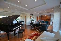 modern Living room by ARQ Ana Lore Burliga Miranda