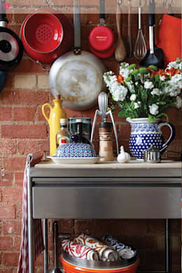industrial Kitchen by Heart Home magazine