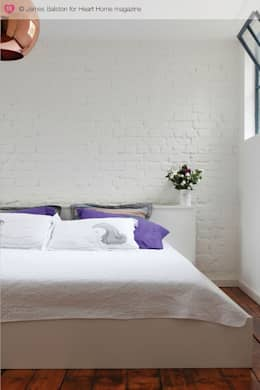 industrial Bedroom by Heart Home magazine