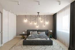 modern Bedroom by Алена Булатая