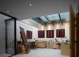 modern Study/office by Belsize Architects
