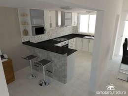 modern Kitchen by Somos Arquitectura