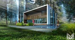 ДОМ В КИЕВЕ: Дома в . Автор –  Aleksandr Zhydkov Architect