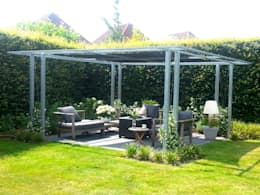 Terrazas  de estilo  por Bladgoud-tuinen