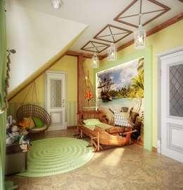 Klassische Kinderzimmer Von Инна Михайская