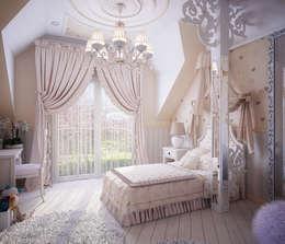 Projekty,  Pokój dziecięcy zaprojektowane przez Инна Михайская