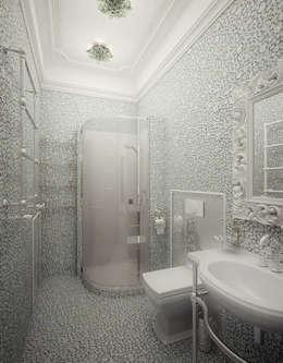 Baños de estilo clásico por Инна Михайская