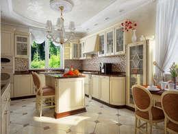 Cocinas de estilo clásico por Инна Михайская