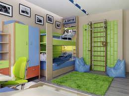 Chambre d'enfant de style de style Moderne par Инна Михайская